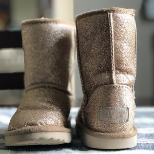 Ugg- Glitter Gold (Toddler Girl-11)